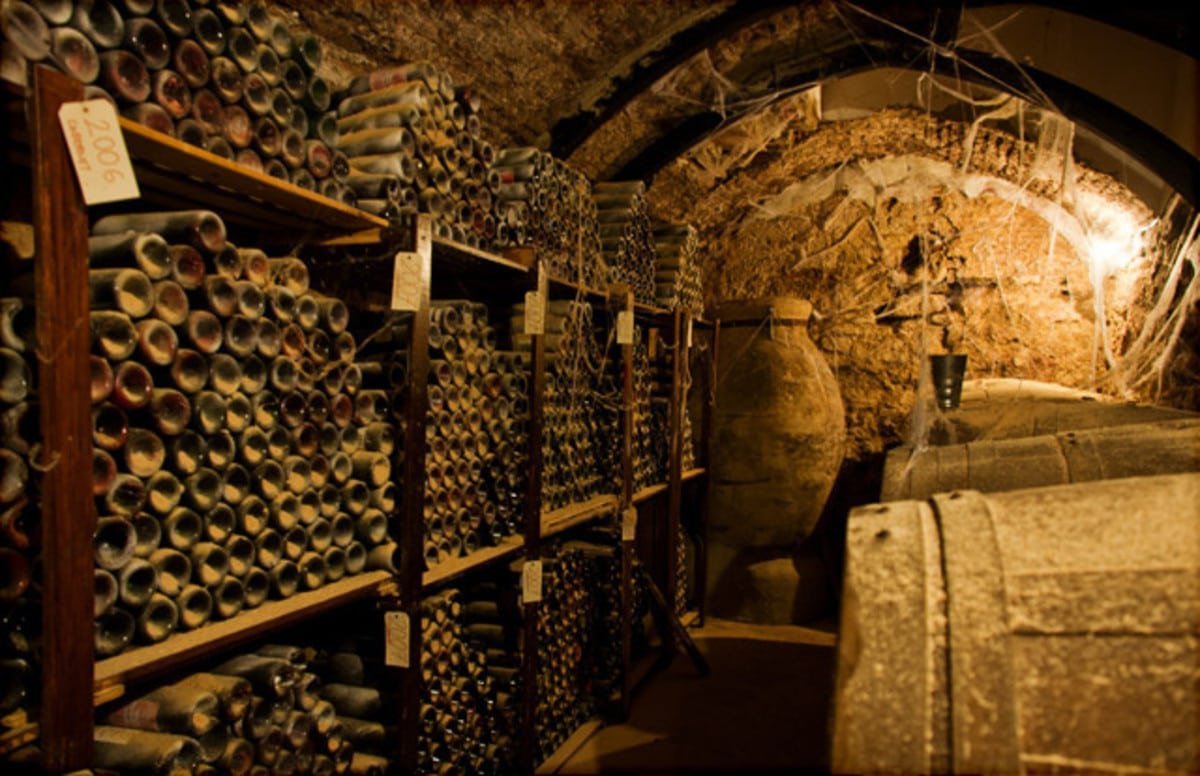 Ancient Wine Cellar in Middle East
