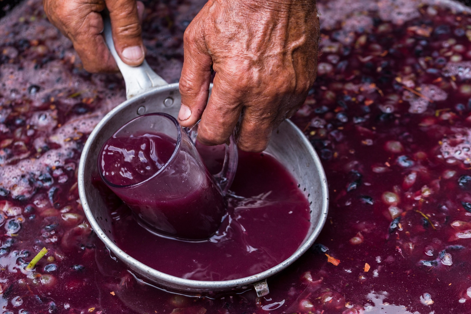 Grape Juice With Amazing Color