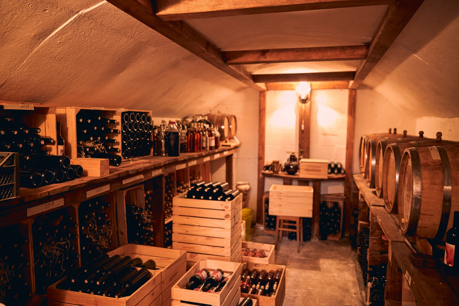 Perfectly Functional Home Wine Cellar