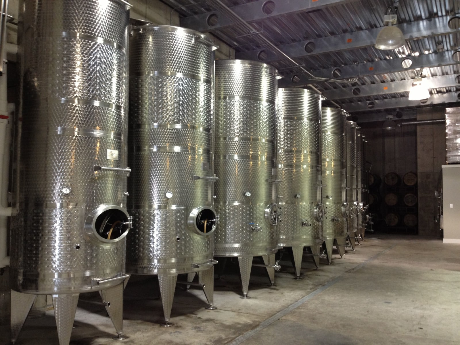 Stainless Steel Wine Fermenters