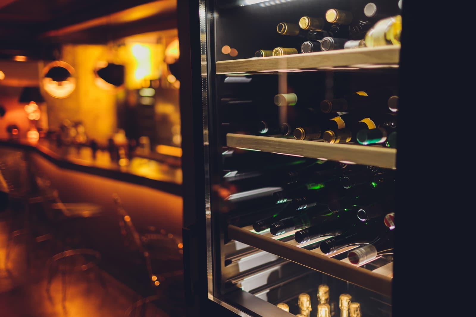 Storing Bottles in Wine Fridge