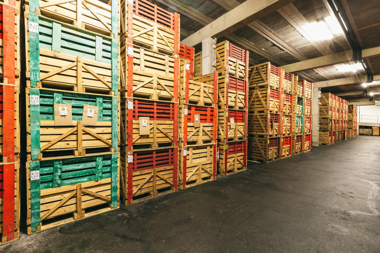 Warehouse Full of Wine
