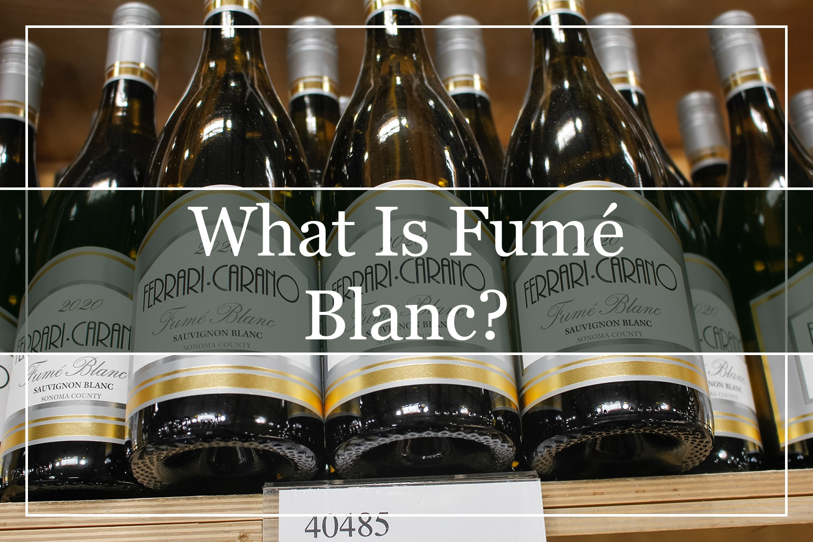 What Is Fumé Blanc