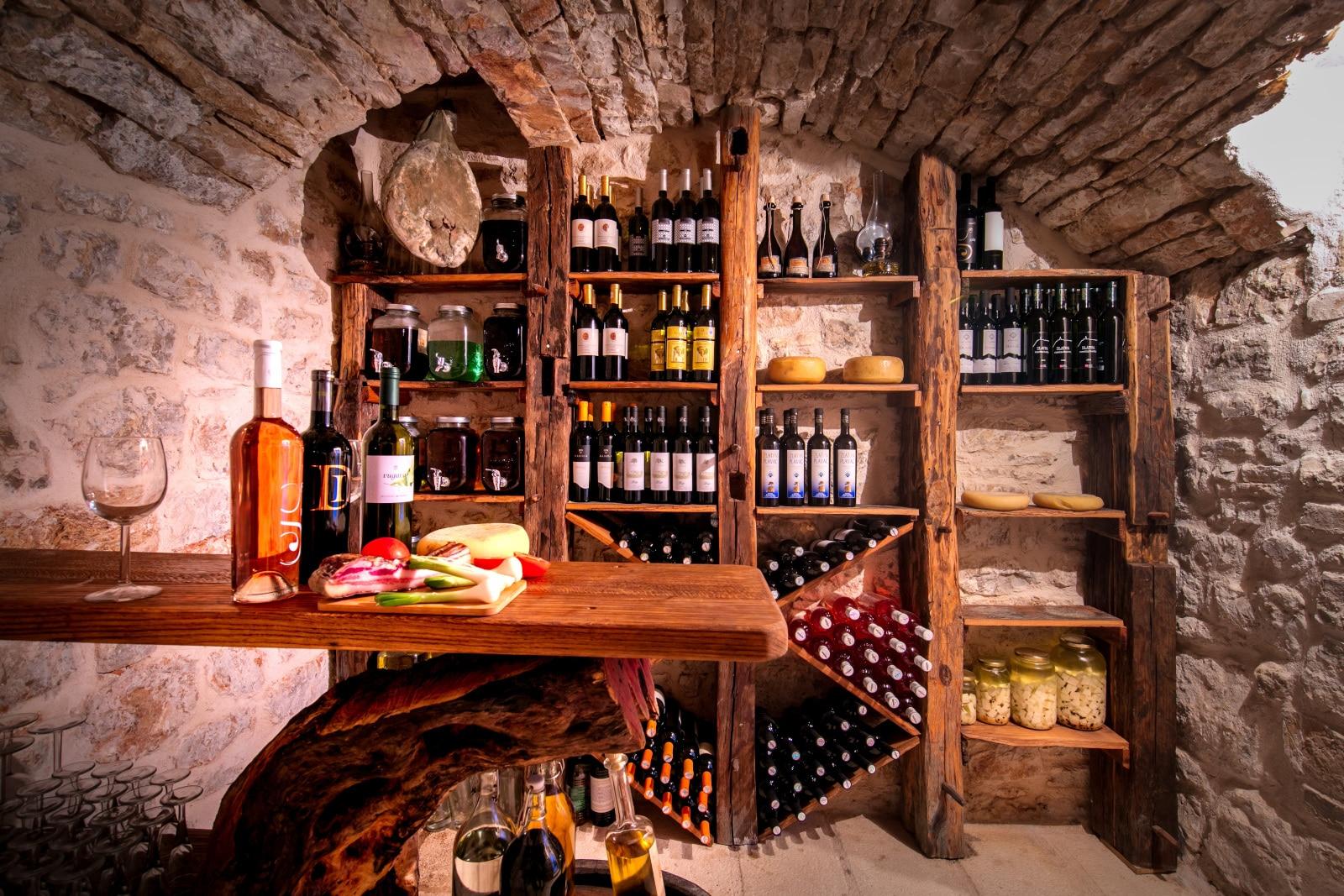 Wine Cellar Golub in Podselje, Vis, Croatia