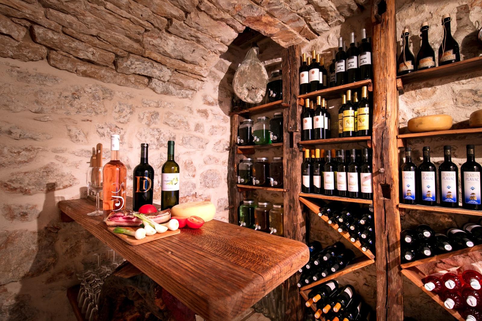 Wine Cellar in Vis Croatia