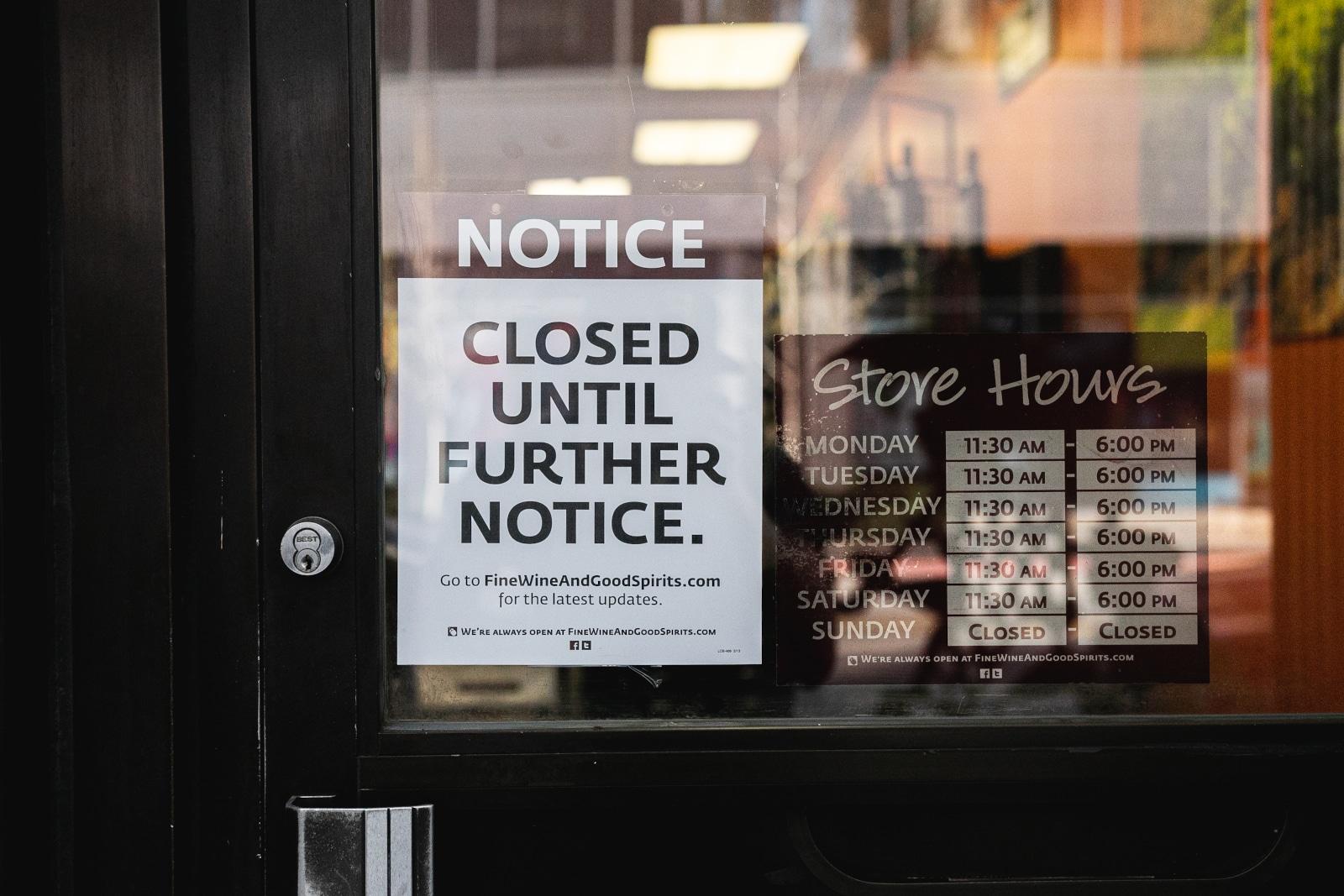 Wine Shop Lockdown