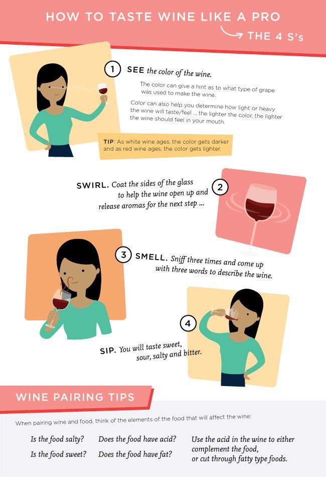 Wine Tasting Infographic
