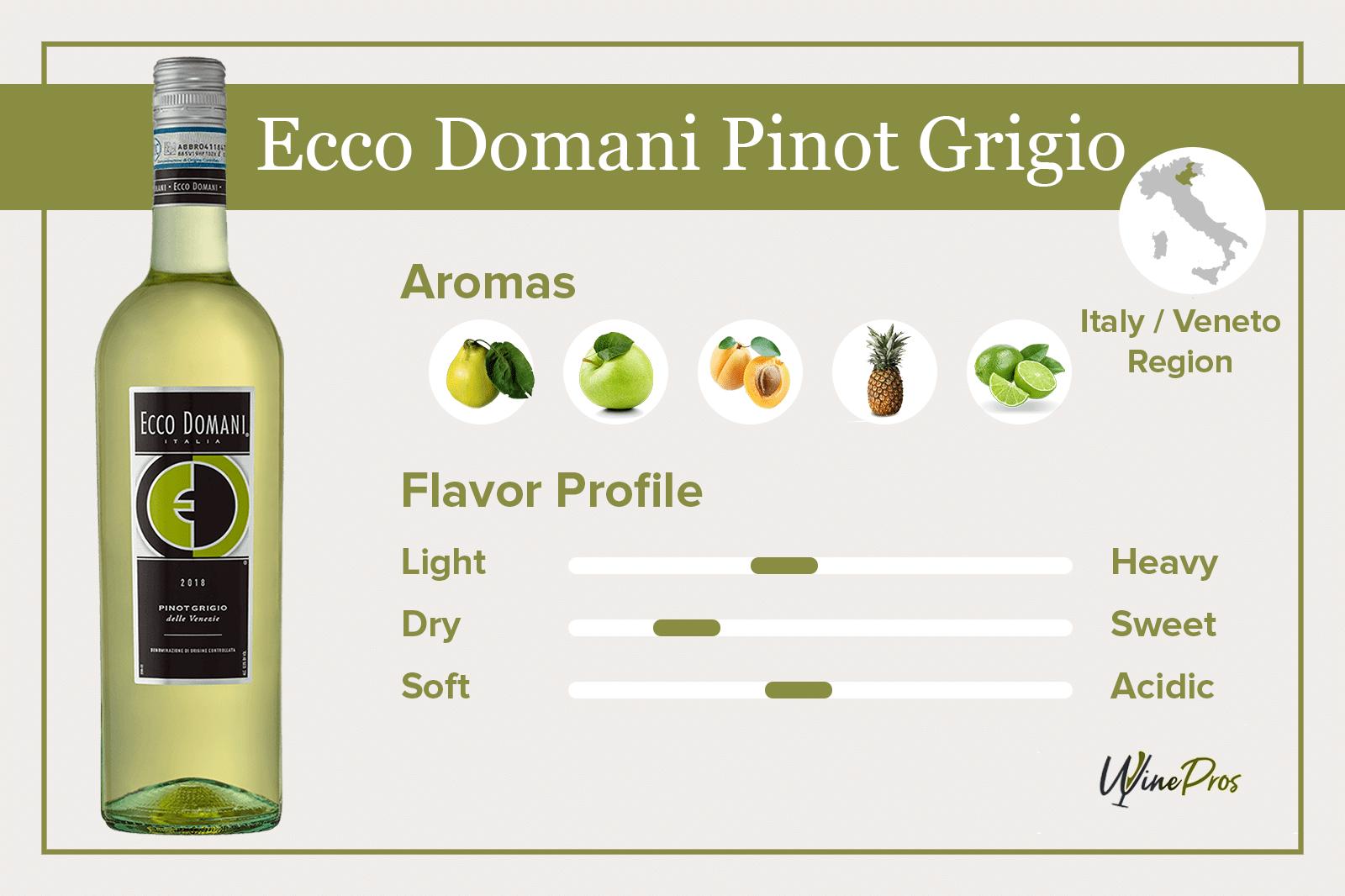 Ecco Domani Pinot Grigio Review (2021)