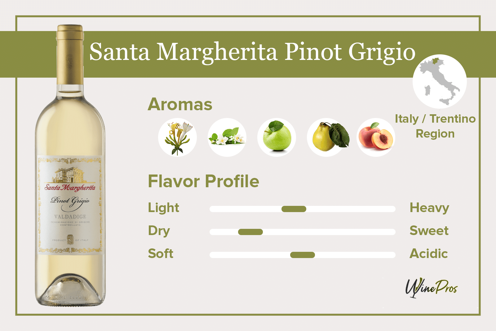 Santa Margherita Pinot Grigio Review – Valdadige (2021)